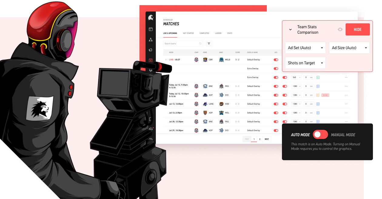 LIGR.Live Illustration and user interface